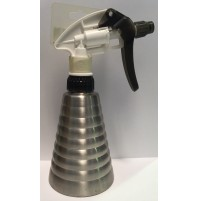 Water Spray - Stainless Steel Bottle - White Nozzle - 300ml