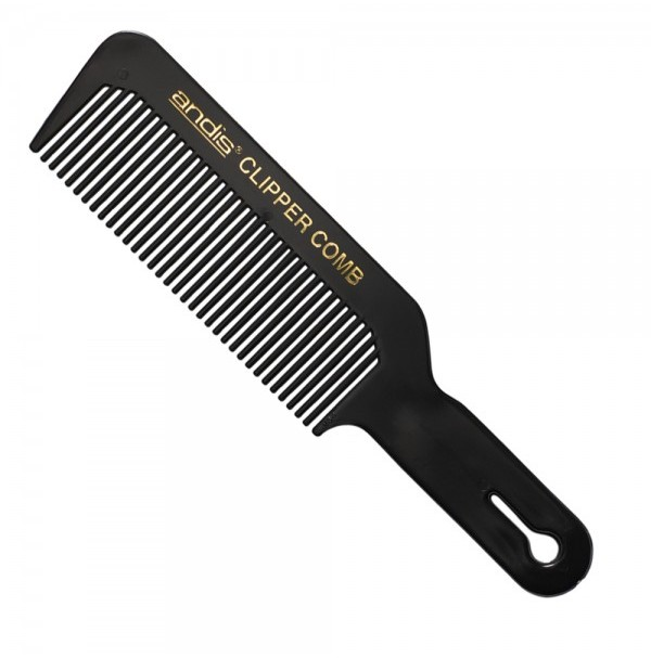 Comb - Andis -  Flat Top Clipper Comb - Black