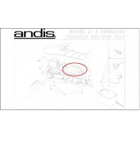 Andis - T Edjer D3 & D4 - Battery