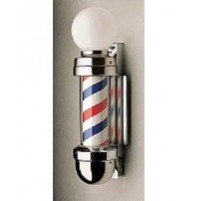 Barber Pole - Marvy - Wall Mounted - Twin Light