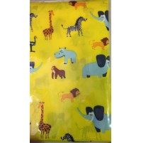 Cape - DH - Yellow Animal - Kids with press studs