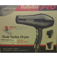 Hair Dryer - Babyliss - Dual Turbo with Bag