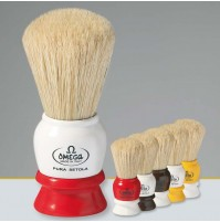 Omega - Shave Brush - No.75 - Two-Tone Handle